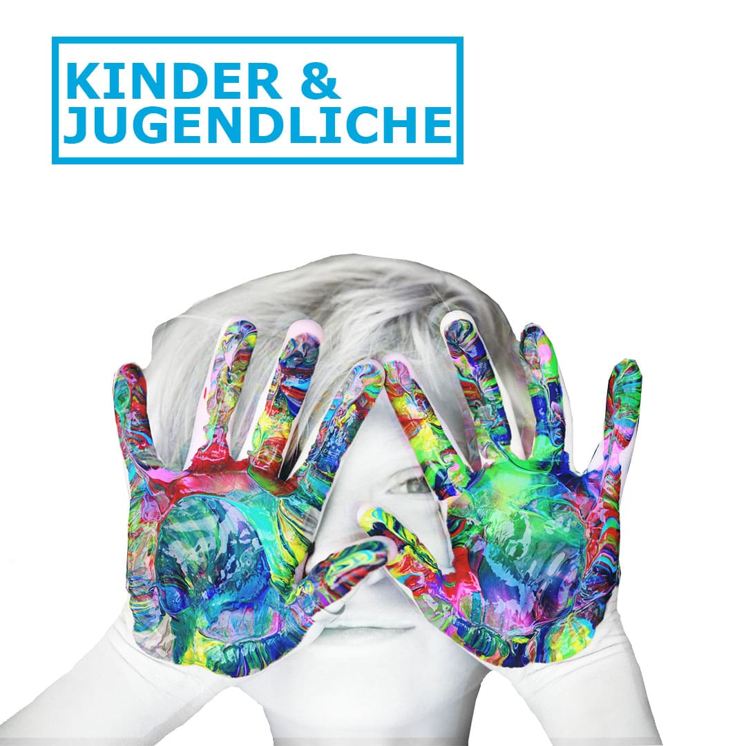 TUFA_Kurse & Workshops_Kinder und Jugendliche_Logo mit Text