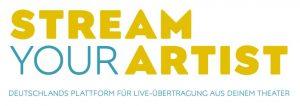Stream your artist logo