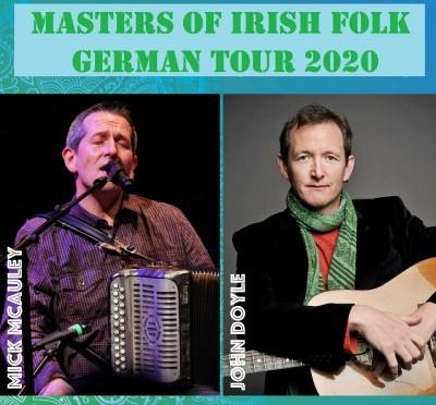 John Doyle & Mick McAuley - Folkstars auf Tour in Deutschland!