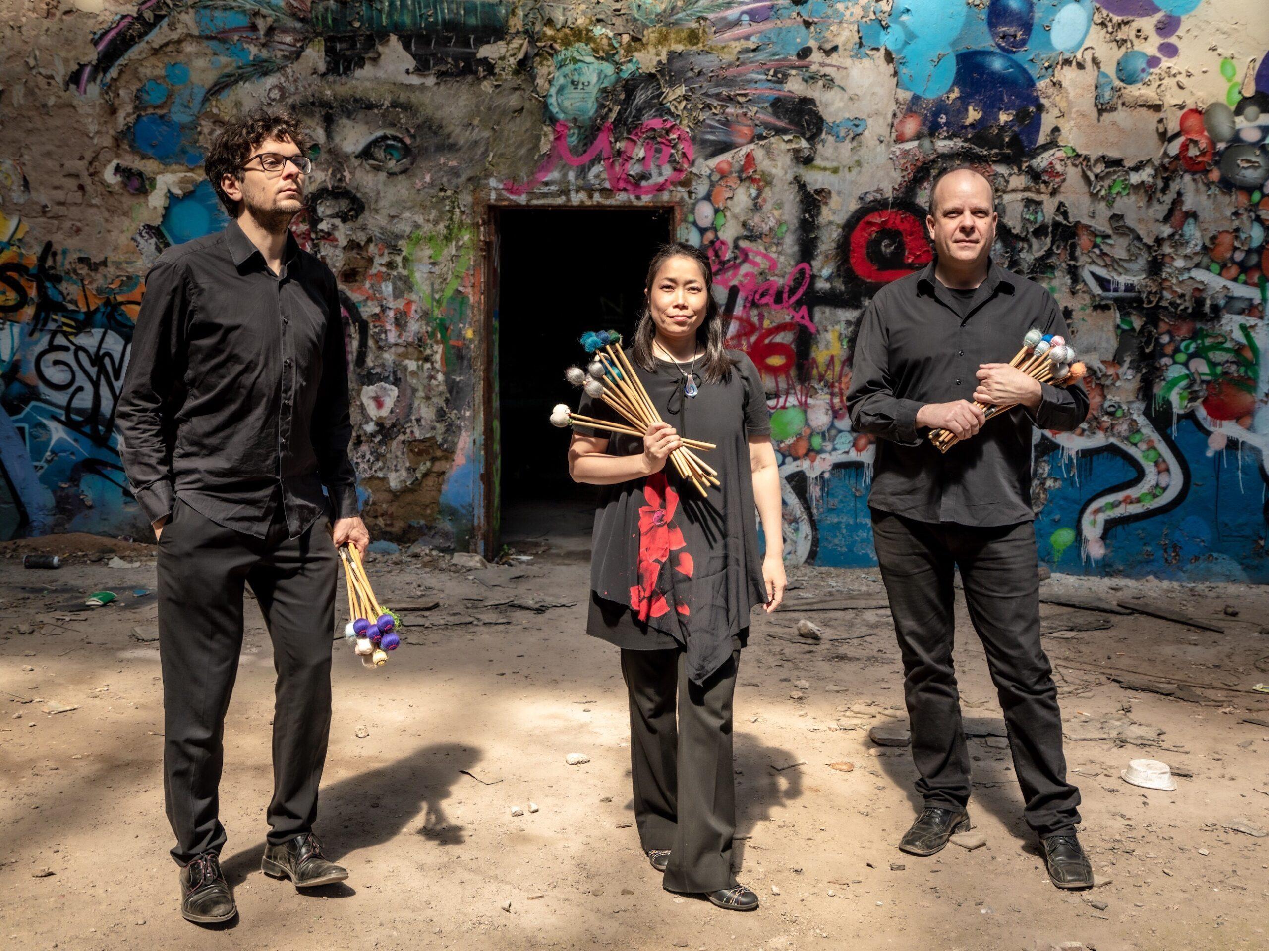 Trierer Unterwelten - FourSchlag-Percussion-Trio