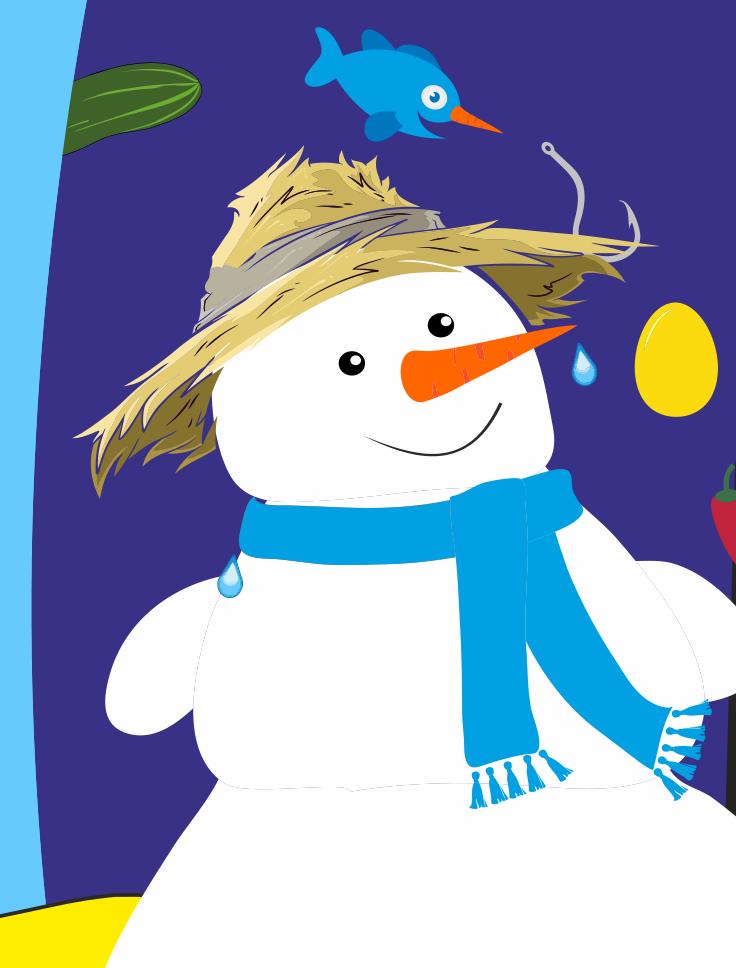 TUFA-Weihnachtsmärchen: Jeda, der Schneemann